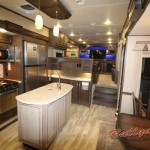 Grand Design Solitude 379FL Fifth Wheel Dining Area