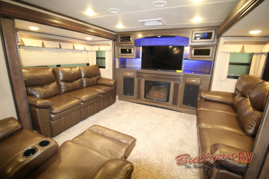 Grand Design Solitude 375fl Fifth Wheel Floorplan Five