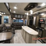 Grand Design Solitude 377MB Fifth Wheel Interior