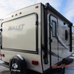 Keystone Bullet Crossfire 1650EX Expandable Travel Trailer Closed