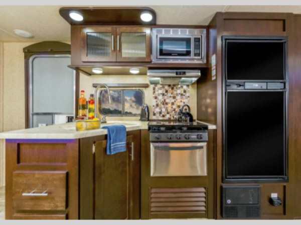 Cherokee travel trailer kitchen