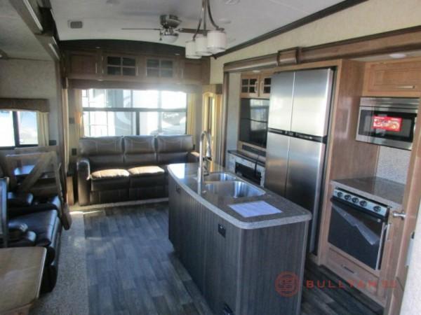 Montana fifth wheel kitchen