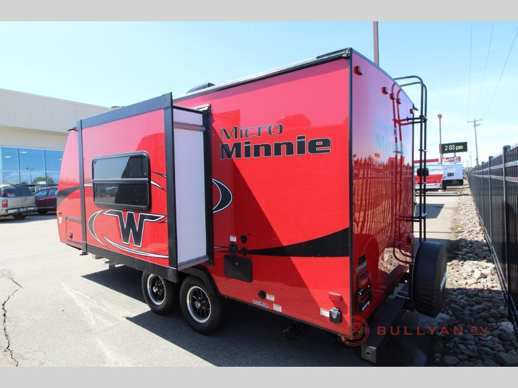Winnebago Micro Minnie Travel Trailers Red