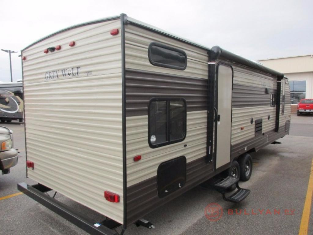 Forest River Cherokee Grey Wolf 26CKSE Rear