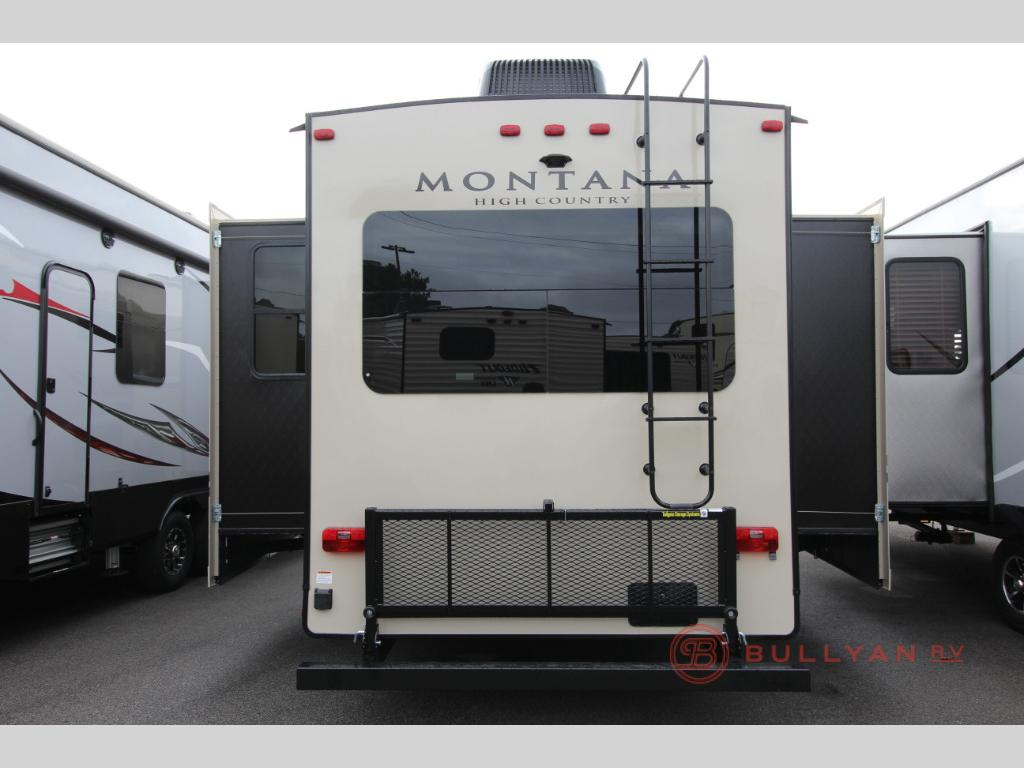 Keystone Montana High Country 344RL Real Living Fifth Wheel Rear