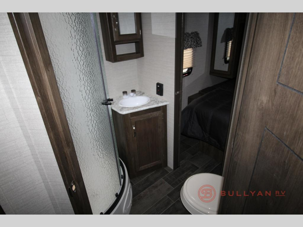 Keystone Premier 24RKPR Travel Trailer Rear Bathroom
