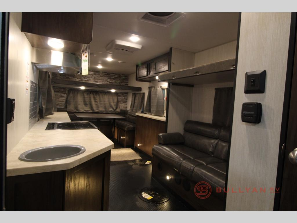 kitchen in New 2019 Forest River RV Cherokee Grey Wolf 16 GR