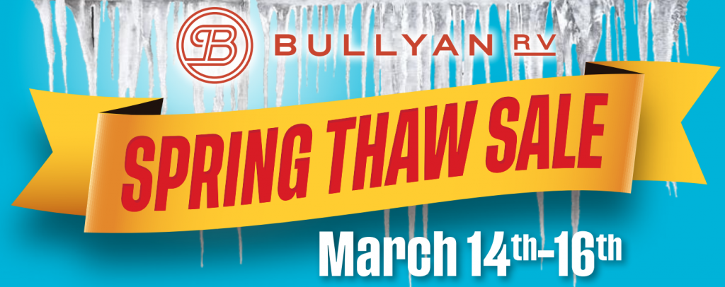 spring thaw sale