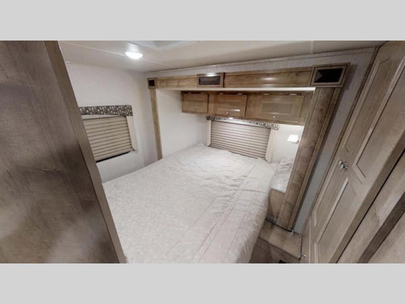 leprechaun motorhome bedroom