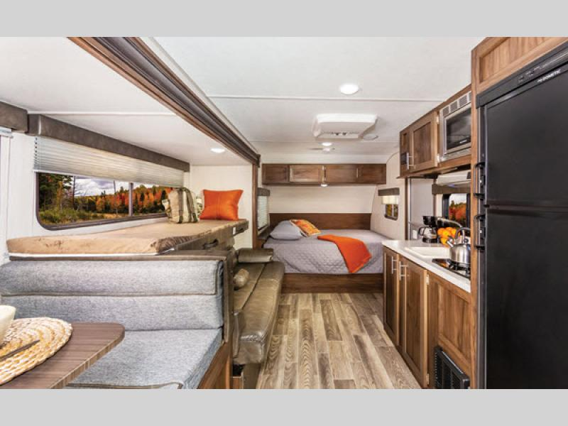 bedroom wolf pup travel trailer