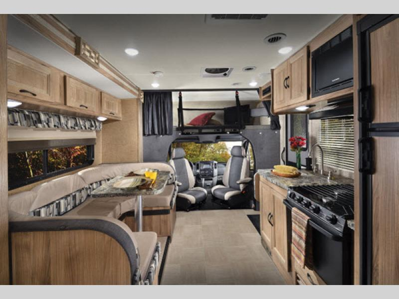 living area Coachmen RV Prism Motor Home Class C - Diesel