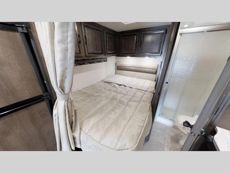 bedroom and bathroom Coachmen RV Prism Motor Home Class C - Diesel