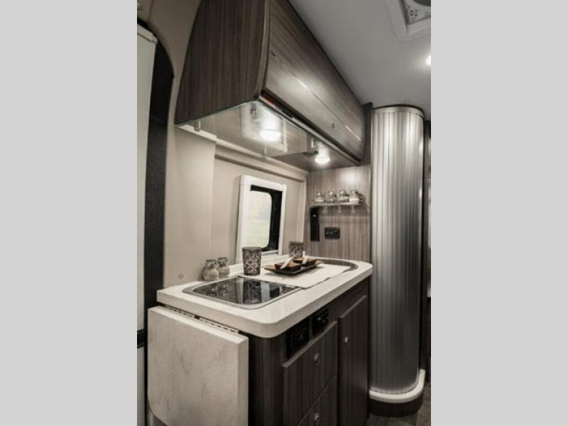 winnebago travato motorhome review kitchen