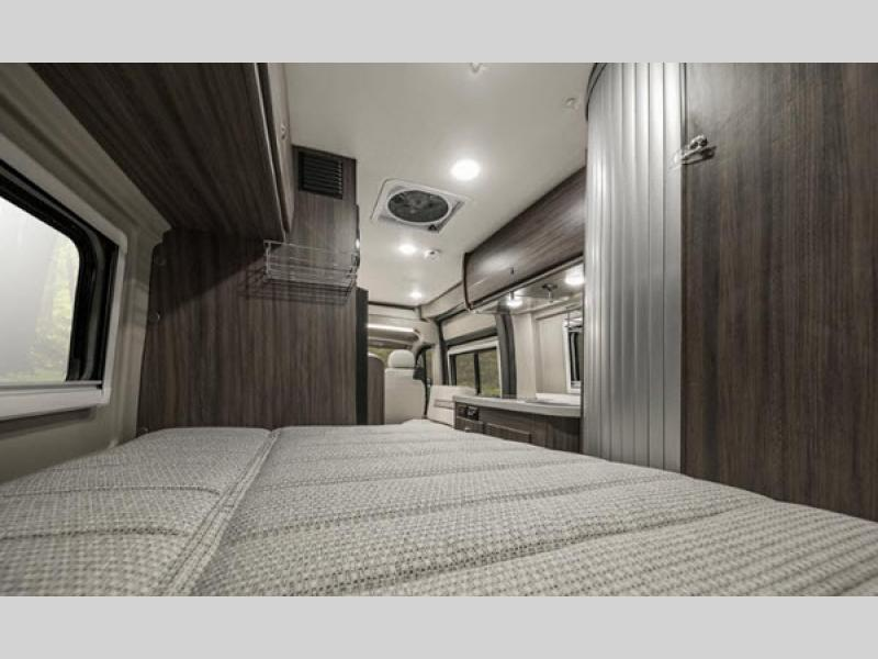 travato motorhome bedroom