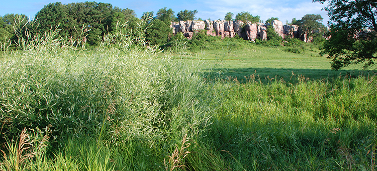 blue mounds rock mounds