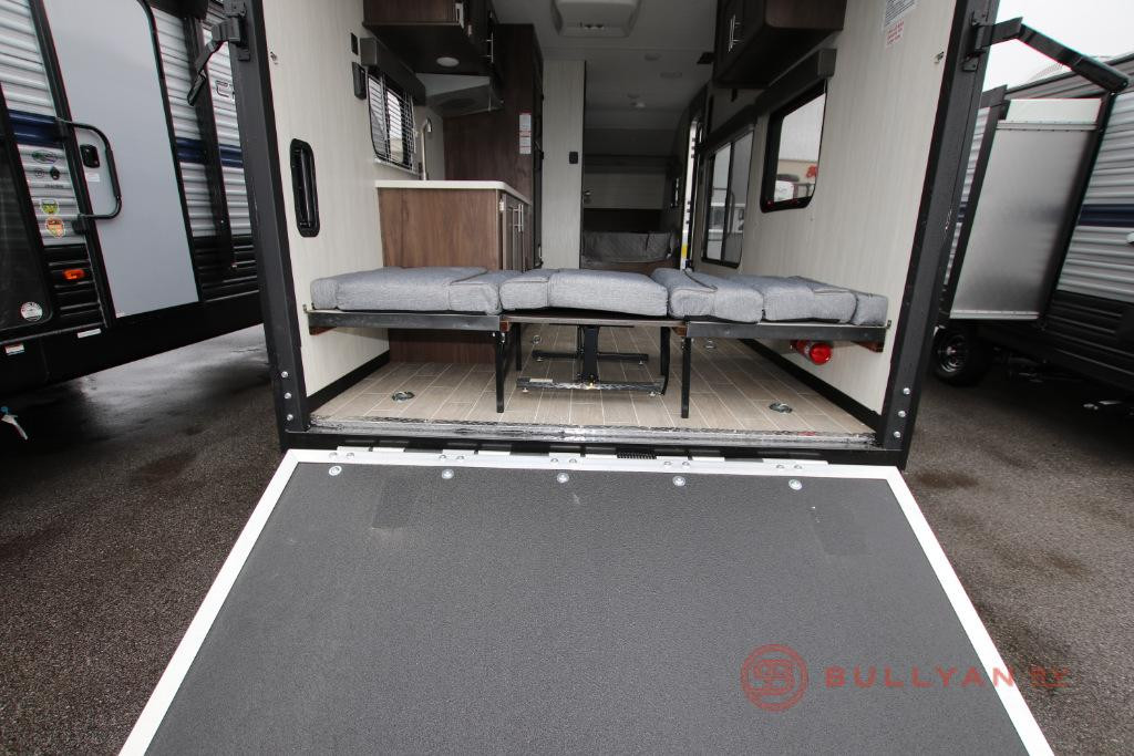 New 2020 Forest River RV Cherokee Wolf Pup 18RJB ramp