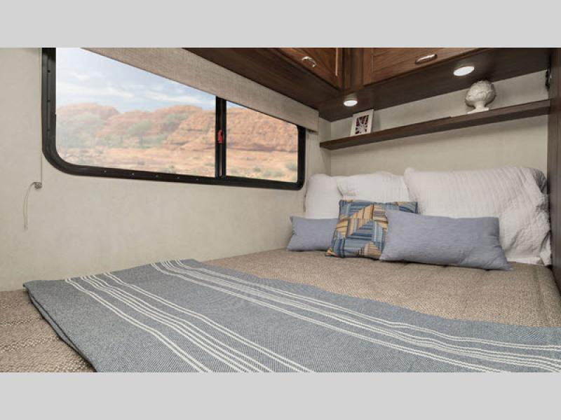 porto motorhome bedroom