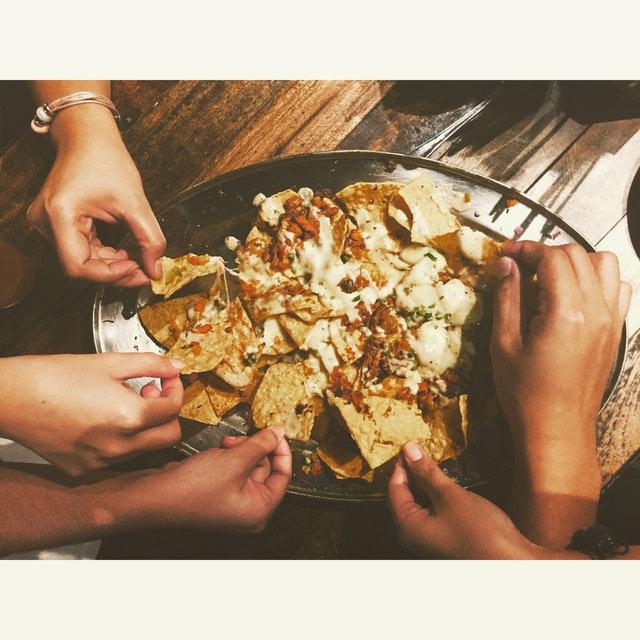 campfire nachos