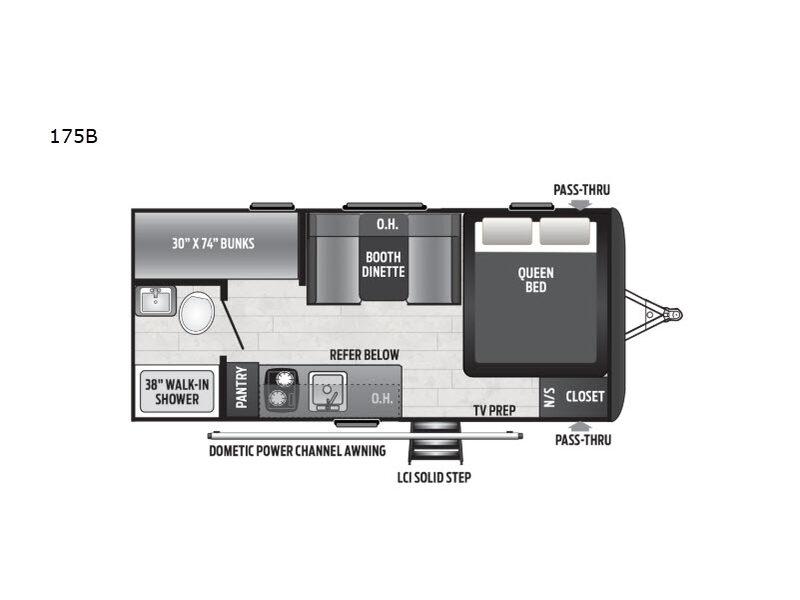 2021 Keystone RV Hideout Single Axle 175BH