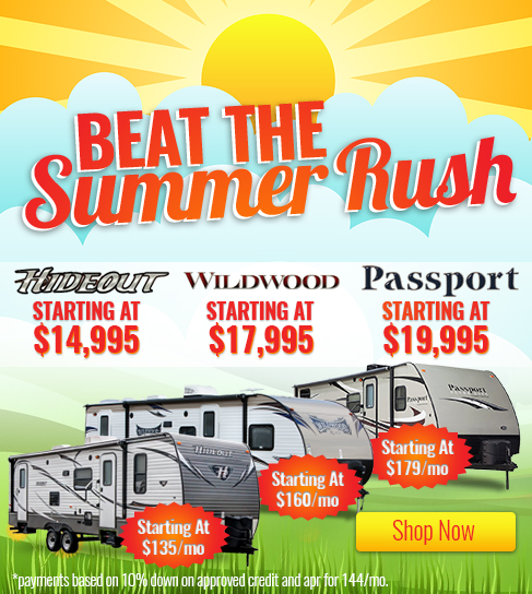 Beat The Summer Rush On Top Travel Trailers