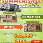 Summer Sale on Hideout Travel Trailer