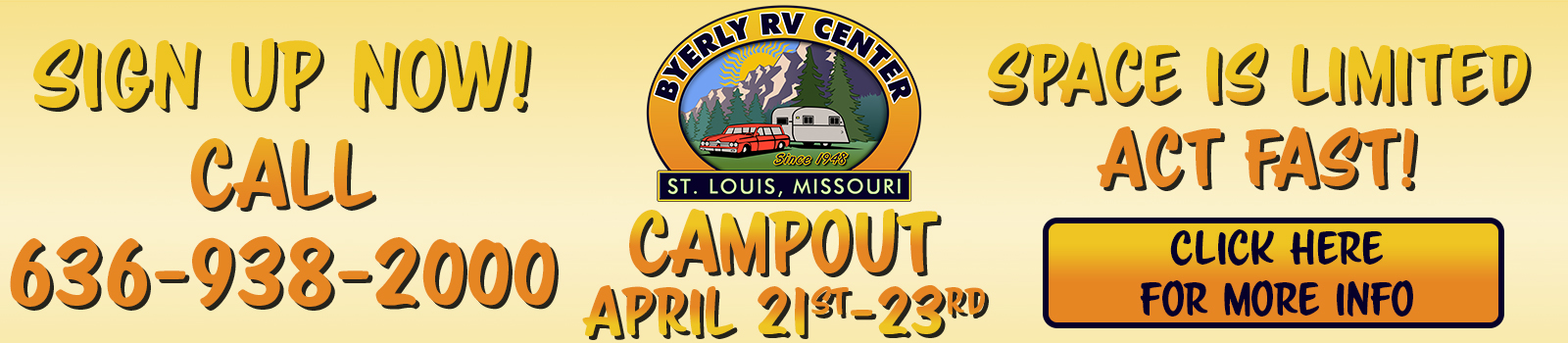 Campout Banner Spring 2017