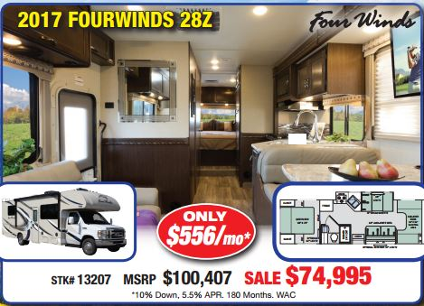 Byerly RV Sale Thor Four Winds Motorhome