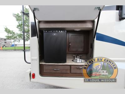Thor Ace Class A Motorhome Outdoor Kitchen