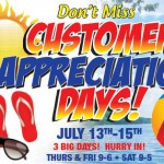 Byerly Customer Appreciation Sale