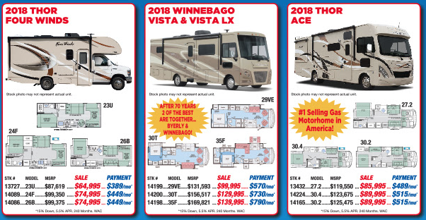 Byerly RV Beat The Rush Motorhome Sale