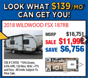 Byerly RV Beat The Rush Sale Low Monthly Payments