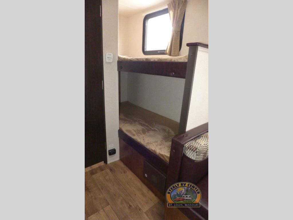 Forest River Wildwood Travel Trailer Bunk Beds