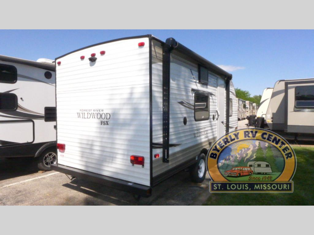 Forest River Wildwood Travel Trailer Rear