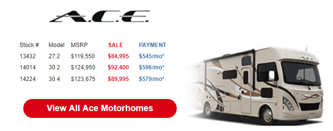 Byerly Anniversary RV Sale A.C.E.