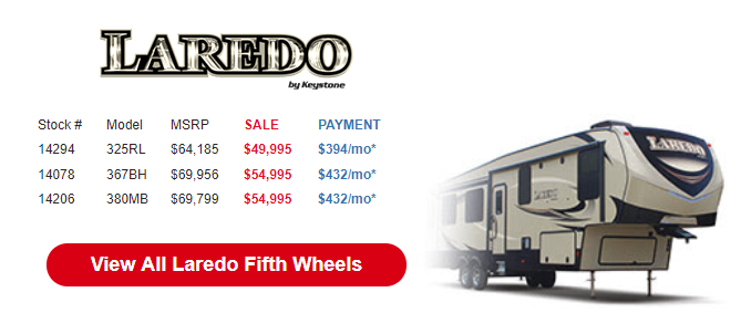 Byerly Anniversary RV Sale Laredo