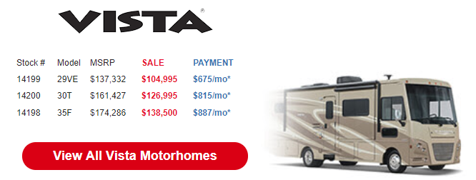 Byerly Anniversary RV Sale Vista