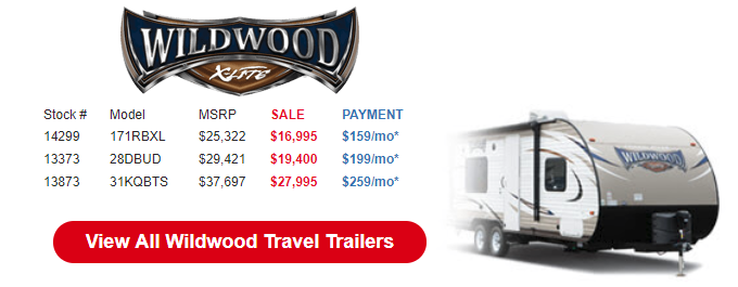 Byerly Anniversary RV Sale Wildwood X-Lite