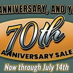Byerly RV 70th Anniversary Sale RV Rebates