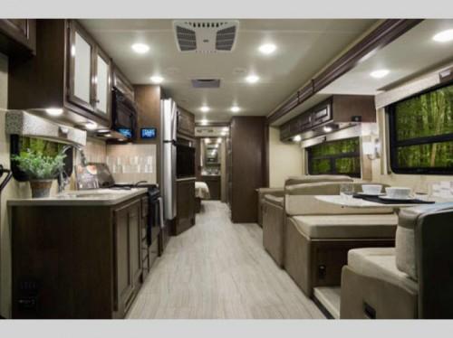Thor Windsport Class A Motorhome Interior