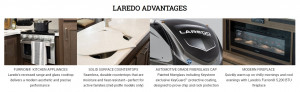 Laredo features luxury at every turn. Visit Byerly RV in St. Louis, MO for more details