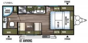 """If you're looking for the original """"tiny house"""" try an RV from Forest River Wildwood at Byerly RV in Eureka, MO"""