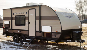 Come see the Forest River Wildwood 171RBXL at Byerly RV in St. Louis, MO