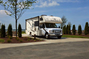 Get your RV Rental for Fall camping at Byerly RV in Eureka, MO