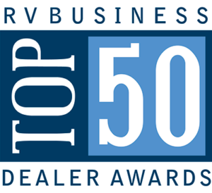 Byerly RV in St. Louis, MO was awarded Top 50 RV Dealer honors by RV Business Magazine for 2019