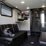 The Thor Outlaw 37RB is a Class A motorhome with a garage! See it at Byerly RV in Eureka, MO
