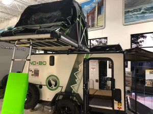 Roof tent or Deer Stand?  The No Boundaries 10.6 has one of the most unique features of any lightweight travel trailer.  See it at Byerly RV in Eureka, MO