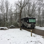 Winter RV Camping can be fun.  Get you trip started at Byerly RV in Eureka, MO