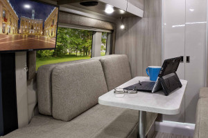 Relax with the television, connect with the Winegard Connect, or just open the sliding door and enjoy the outdoors with the Thor Sequence.  See it today at Byerly RV in Eureka, MO