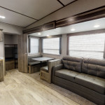 bunk room 5th wheel with outside kitchen