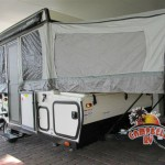 One of our Many Folding Pop-up Campers